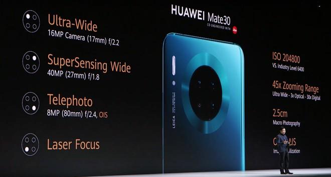 Huawei Mate 30 và Mate 30 Pro ra mắt: Màn hình chân trời, slow-motion 7680fps, loại bỏ nút vật lý, không có dịch vụ Google - Ảnh 24.