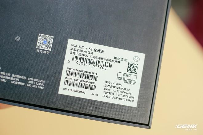Trên tay Vivo NEX 3: Màn hình thác nước tỷ lệ 99.6%, camera thò thụt, không phím vật lý, giá 21 triệu - Ảnh 2.