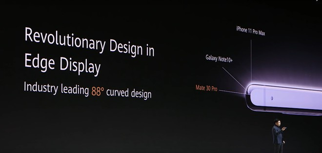 Huawei dìm hàng iPhone 11 Pro Max và Galaxy Note 10+ tại sự kiện ra mắt Mate 30 Pro như thế nào? - Ảnh 1.