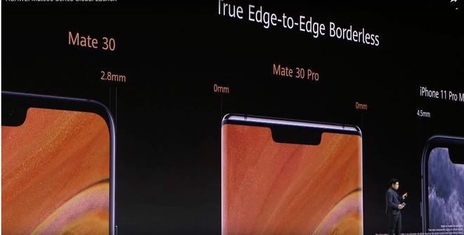 Huawei dìm hàng iPhone 11 Pro Max và Galaxy Note 10+ tại sự kiện ra mắt Mate 30 Pro như thế nào? - Ảnh 4.