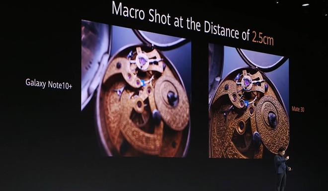 Huawei dìm hàng iPhone 11 Pro Max và Galaxy Note 10+ tại sự kiện ra mắt Mate 30 Pro như thế nào? - Ảnh 16.