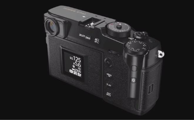 Lộ những hình ảnh đầu tiên về Fujifilm X-Pro3: Thân máy titan, 2 màn hình, giả lập film mới - Ảnh 5.