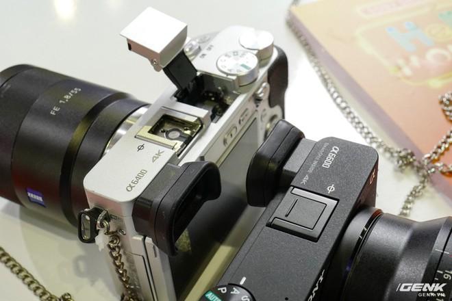 Trên tay Sony A6600: Trang bị chống rung 5 trục IBIS, xử lý tốc độ nhanh gấp 1,8 lần so với A6500, 425 + 425 điểm lấy nét theo pha và tương phản, giá bán ra khá chát - Ảnh 4.