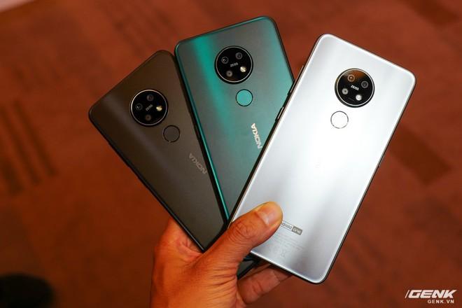 Cận cảnh Nokia 7.2 vừa ra mắt: Cụm camera trước & sau được Zeiss phát triển, mặt lưng màu xanh giống iPhone mới, giá gần 6,2 triệu đồng - Ảnh 2.