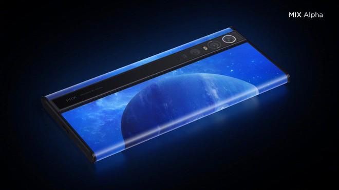 Xiaomi Mi MIX Alpha ra mắt với thiết kế không tưởng: Màn hình bao xung quanh thân máy, chiếm tỷ lệ 180%, camera 108MP, giá 2.800 USD - Ảnh 4.