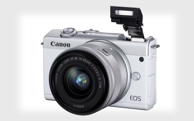 Canon ra mắt máy ảnh không gương lật nhập môn EOS M200 - Ảnh 1.