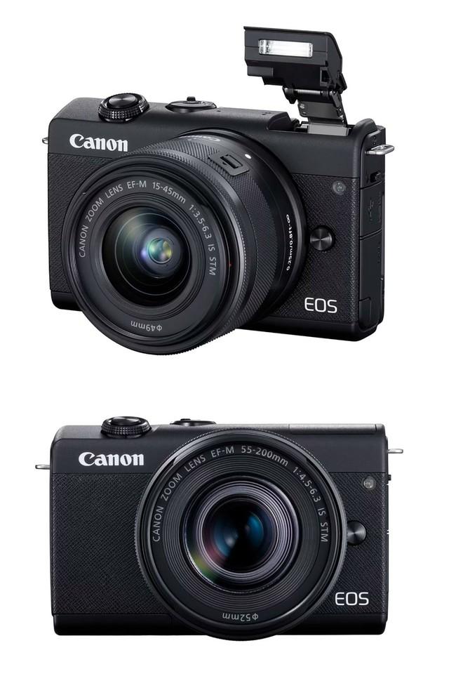 Canon ra mắt máy ảnh không gương lật nhập môn EOS M200 - Ảnh 3.