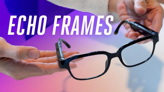 Amazon giới thiệu kính mắt thông minh Echo Frames, tích hợp Alexa, giá 180 USD - Ảnh 1.