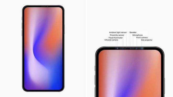 Đây có thể là thiết kế của iPhone 2020, với màn hình không tai thỏ - Ảnh 1.