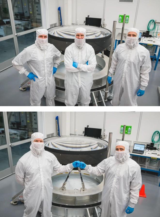 Đây là ống kính quang học lớn nhất Thế giới: Rộng 1.5m, sản xuất suốt 5 năm mới xong - Ảnh 4.