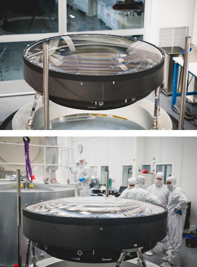 Đây là ống kính quang học lớn nhất Thế giới: Rộng 1.5m, sản xuất suốt 5 năm mới xong - Ảnh 5.