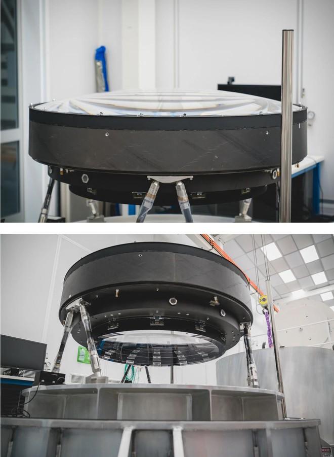 Đây là ống kính quang học lớn nhất Thế giới: Rộng 1.5m, sản xuất suốt 5 năm mới xong - Ảnh 6.