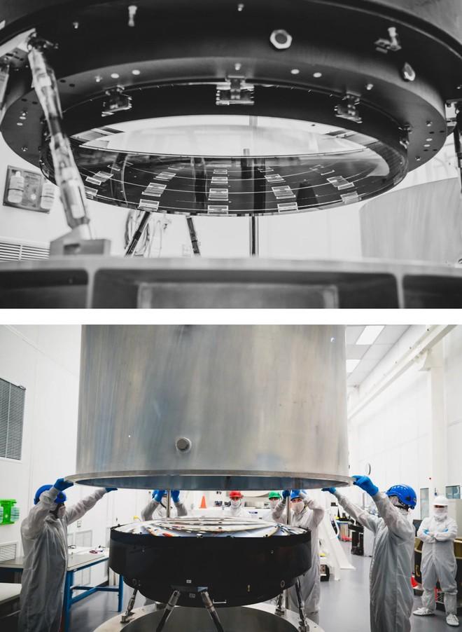 Đây là ống kính quang học lớn nhất Thế giới: Rộng 1.5m, sản xuất suốt 5 năm mới xong - Ảnh 7.