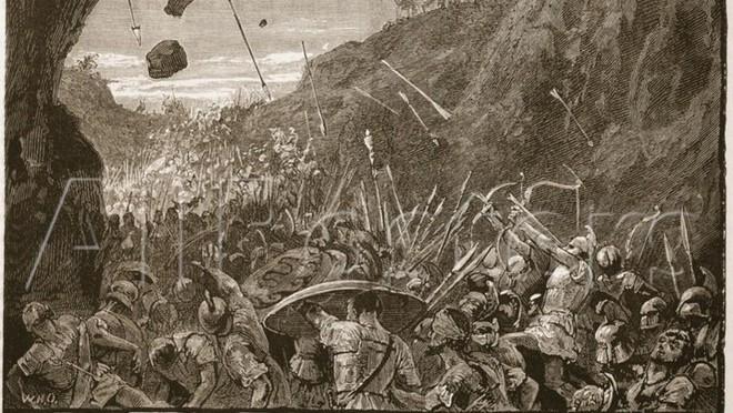 Hiện tượng siêu trăng máu đã khiến hàng nghìn binh sĩ Hy Lạp cổ tử trận như thế nào? - Ảnh 1.