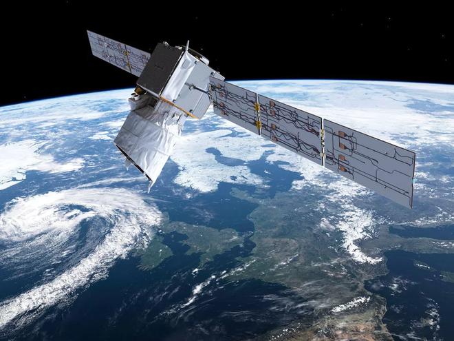 Vệ tinh của Elon Musk tí nữa thì va phải vệ tinh nghiên cứu của Cơ quan Vũ trụ Châu Âu - Ảnh 1.