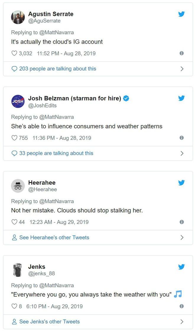 Hotgirl Instagram bị phát hiện ghép mây giống hệt nhau vào ảnh du lịch quanh Thế giới - Ảnh 5.
