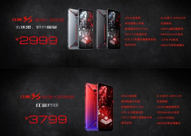 Nubia Red Magic 3S ra mắt: Snapdragon 855+, màn hình 90Hz, pin 5000mAh, giá từ 9.8 triệu đồng - Ảnh 4.