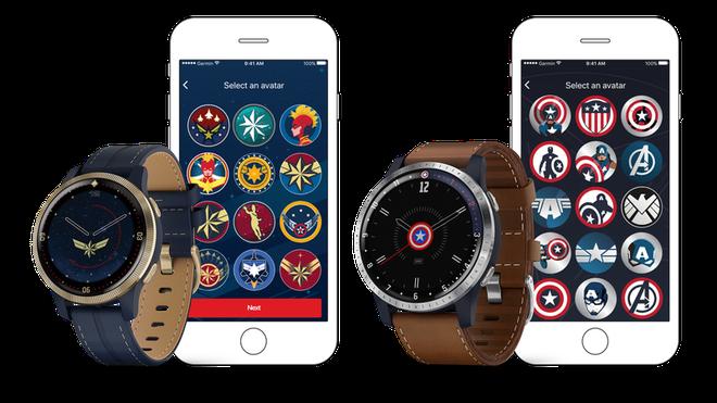 Garmin hợp tác Marvel làm đồng hồ GPS cho người lớn, thiết kế không hề tệ chút nào - Ảnh 1.