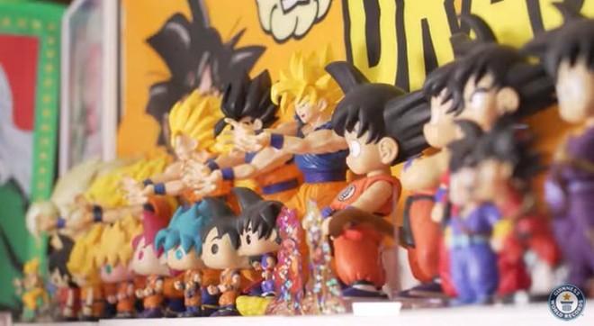 Fan ruột của bộ truyện tranh Dragon Ball phá kỷ lục thế với bộ sưu tập hơn 10 ngàn vật phẩm, chủ yếu là nhân vật Goku - Ảnh 2.