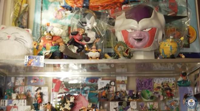 Fan ruột của bộ truyện tranh Dragon Ball phá kỷ lục thế với bộ sưu tập hơn 10 ngàn vật phẩm, chủ yếu là nhân vật Goku - Ảnh 3.
