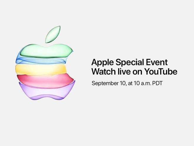 Lần đầu tiên trong lịch sử, Apple sẽ livestream sự kiện ra mắt iPhone 11 trên YouTube - Ảnh 1.