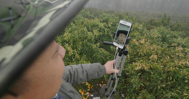 Chỉ nhờ một chiếc iPhone 6 và Internet, ông chú nông dân Trung Quốc trở thành ngôi sao mạng xã hội 82.000 người theo dõi - Ảnh 3.