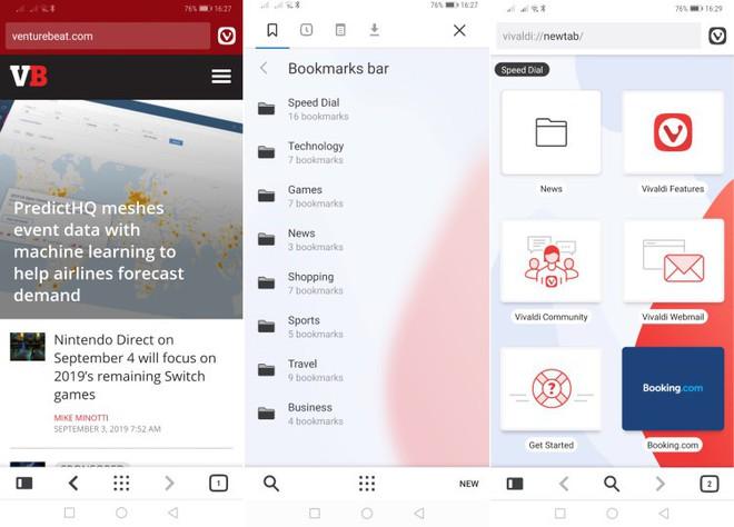 Trình duyệt web Vivaldi chính thức xuất hiện trên di động - Ảnh 2.