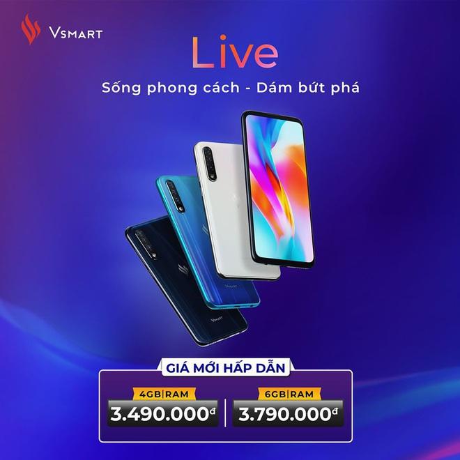 Vsmart Live mất nửa giá, Oppo mua 1 tặng 1 và sự tiếc nuối dành cho VinSmart - Ảnh 2.