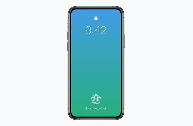 Apple có thể ra mắt iPhone không tai thỏ, Touch ID dưới màn hình vào năm 2020 - Ảnh 2.