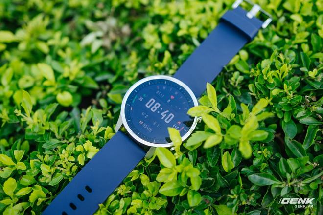 Trên tay Xiaomi Mi Watch Color tại VN: Giá rẻ và đáng mua hơn Mi Watch - Ảnh 4.
