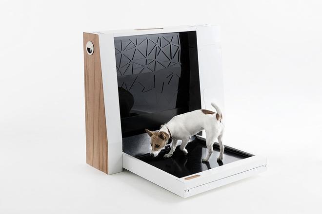 Đây là máy vệ sinh thông minh dành cho chó với khả năng tự động dọn dẹp chất thải của các boss, giá hơn 16 triệu đồng - Ảnh 2.