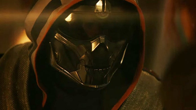Trailer thứ 2 của Black Widow lên sóng: Phản diện chính Taskmaster xuất hiện siêu ngầu, có màn solo cực gắt với Góa phụ đen - Ảnh 2.
