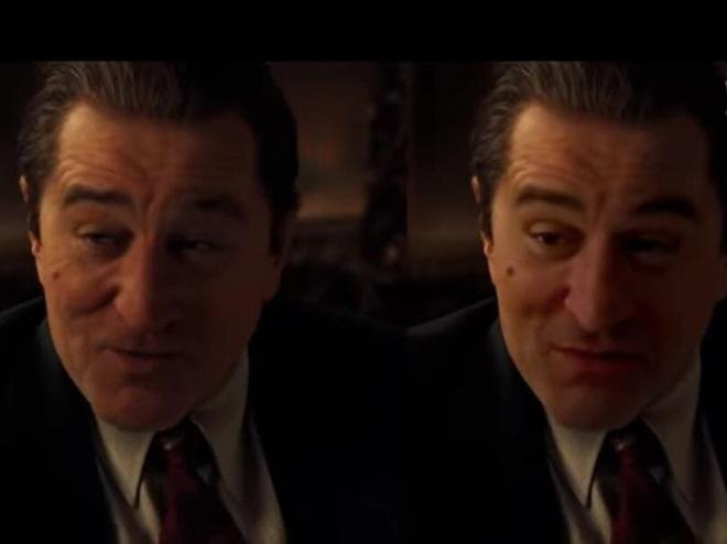 Sử dụng phần mềm miễn phí để hồi xuân Robert De Niro, Youtuber đánh bại CGI đáng giá 100 triệu đô của Netflix - Ảnh 4.