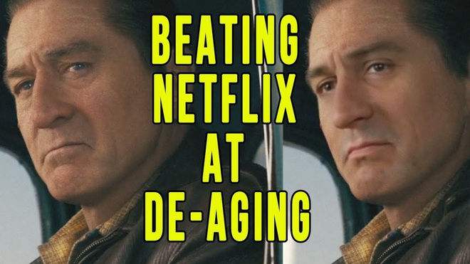 Sử dụng phần mềm miễn phí để hồi xuân Robert De Niro, Youtuber đánh bại CGI đáng giá 100 triệu đô của Netflix - Ảnh 1.