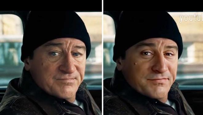 Sử dụng phần mềm miễn phí để hồi xuân Robert De Niro, Youtuber đánh bại CGI đáng giá 100 triệu đô của Netflix - Ảnh 2.