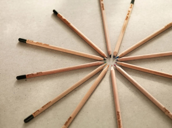 Đây là chiếc bút chì ma thuật, cứ cắm vào đất rồi chăm chỉ tưới nước là sẽ mọc thành cây - Ảnh 2.
