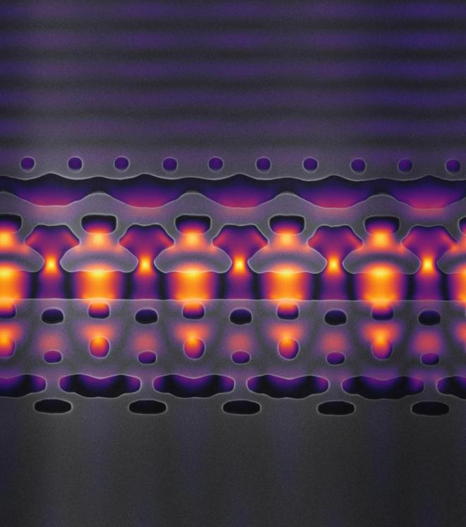 Các nhà khoa học chế tạo được máy gia tốc hạt tí hon: chỉ nhỏ bằng nửa sợi tóc, đặt vừa trên một con chip - Ảnh 3.