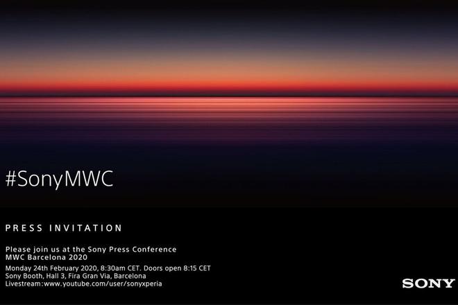 Sony xác nhận sẽ ra mắt một chiếc smartphone Xperia cao cấp mới tại sự kiện MWC 2020 - Ảnh 1.