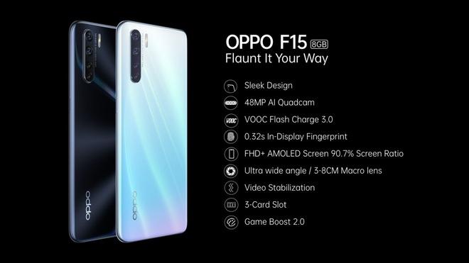 OPPO F15 ra mắt: Màn hình giọt nước, 4 camera 48MP, chip Helio P70, giá 6.5 triệu đồng - Ảnh 3.