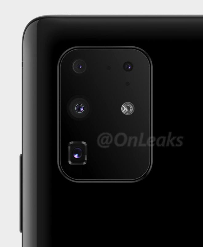 Huawei P40 Pro lộ ảnh render với cụm 5 camera siêu to khổng lồ - Ảnh 2.