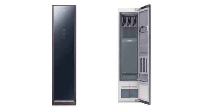 Samsung AirDresser giúp bạn vệ sinh quần áo mà không cần giặt chúng - Ảnh 1.