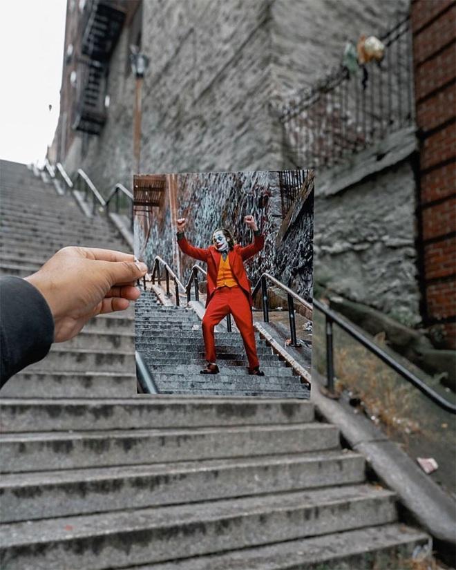 [Chùm ảnh] Đoạn cầu thang nơi Joker nhảy múa điên loạn trong phim nay đã trở thành địa điểm du lịch nổi tiếng thế giới - Ảnh 9.