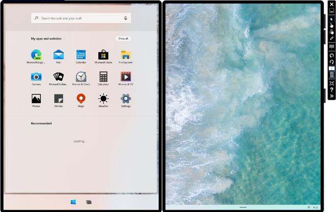 Microsoft tiết lộ cách thức hiển thị của các ứng dụng trên màn hình kép - Ảnh 3.
