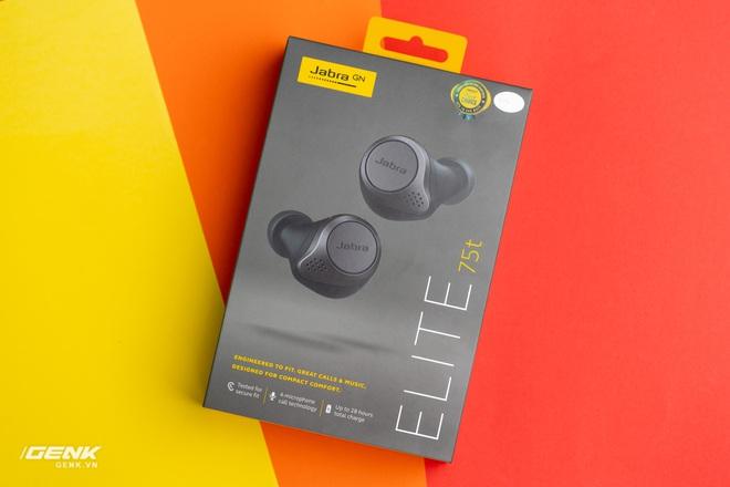 Trải nghiệm tai nghe true-wireless Jabra Elite 75t: Phá tan sự nhàm chán - Ảnh 1.