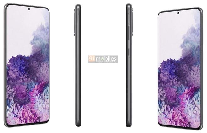 Đây là ảnh render chính thức của Galaxy S20, Galaxy S20+ và Galaxy S20 Ultra - Ảnh 4.