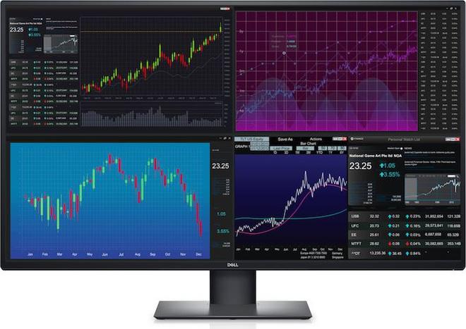 [CES 2020] Dell ra mắt màn hình máy tính 42.5 inch 4K, giá 24 triệu đồng - Ảnh 1.