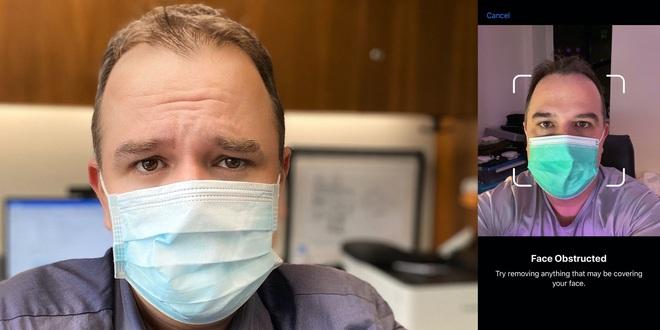 Virus Corona khiến Face ID trở nên vô dụng - Ảnh 1.