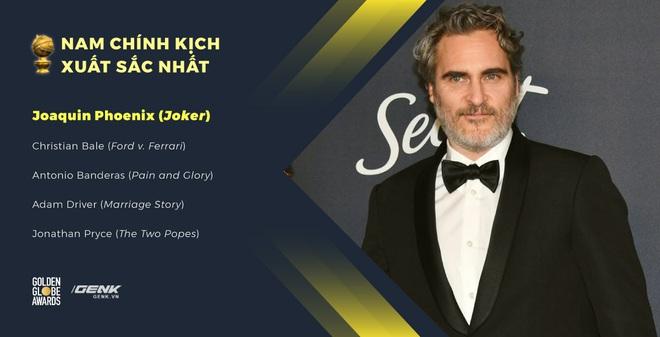 Quả cầu vàng 2020: Parasite bất ngờ ăn giải, Joaquin Phoenix ẵm danh hiệu Nam chính xuất sắc, Quentin Tarantino thắng lớn - Ảnh 6.