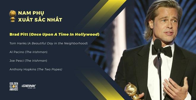 Quả cầu vàng 2020: Parasite bất ngờ ăn giải, Joaquin Phoenix ẵm danh hiệu Nam chính xuất sắc, Quentin Tarantino thắng lớn - Ảnh 10.