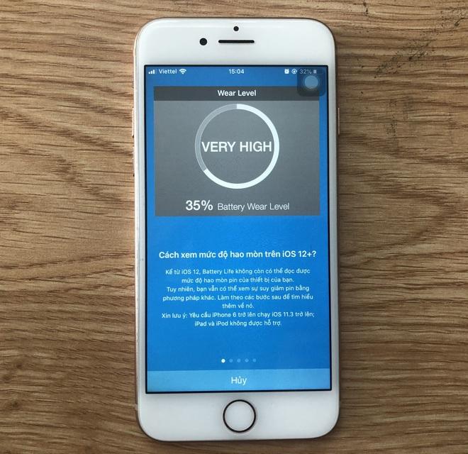 Cách nhận biết iPhone 7 có bị chai hay không? - Ảnh 4.